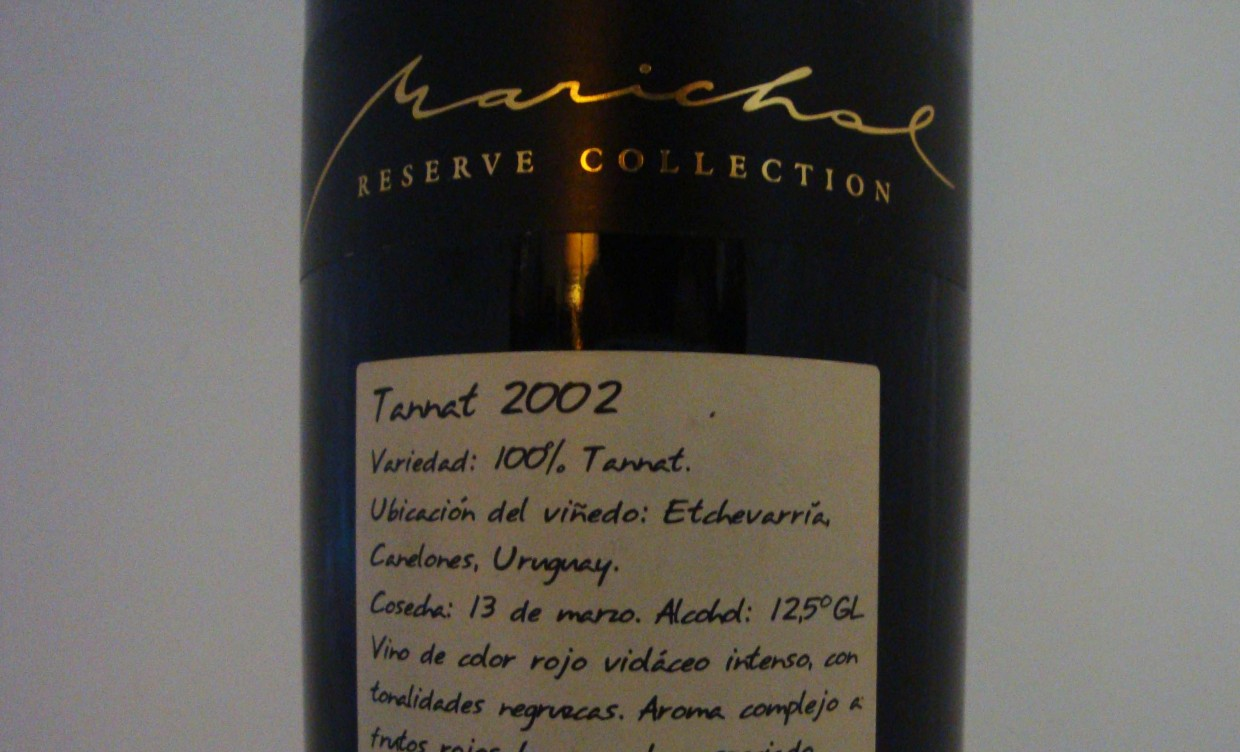 Marichal Reserve Collection Tannat 2002